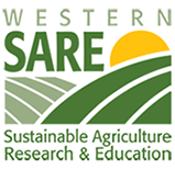 Logo for SARE (Western Sustainable Agriculture Research and Education)